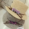 New Arrival Sun Hat for Women Mens Jazz Panama Hat Solid Color fedoras summer straw hat Brief girdle beach hat for Lady