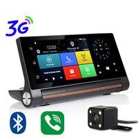 Udricare 7 Inch 3G SIM Card GPS Android 5 0 WiFi Bluetooth Dashboard Dual Lens FHD1080P