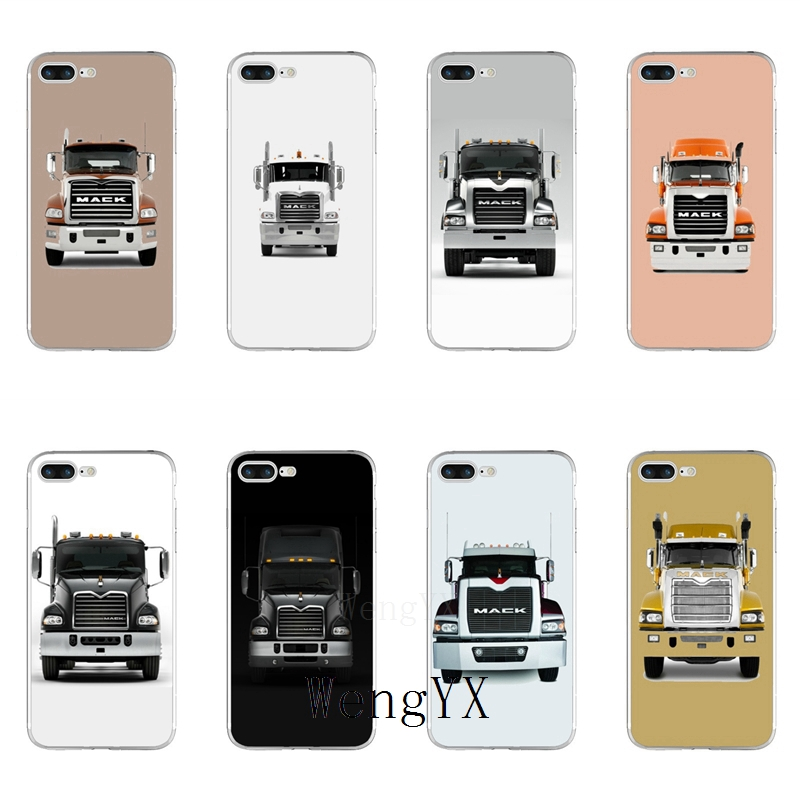 Truck Edge Mobile >> Us 1 99 Famous Mack Truck Car Slim Silicone Tpu Soft Phone Case For Samsung Galaxy S3 S4 S5 S6 S7 Edge S8 S9 Plus Mini Note 3 4 5 8 In Half Wrapped
