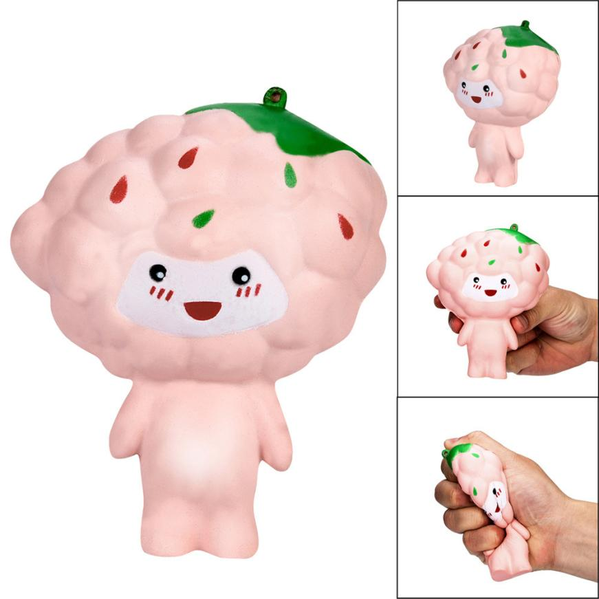 13cmSquishies Cartoon Grape Baby Slow Rising Squeeze Scented Stress Reliever Toy Decompression Toys anti stress funny squishy#20