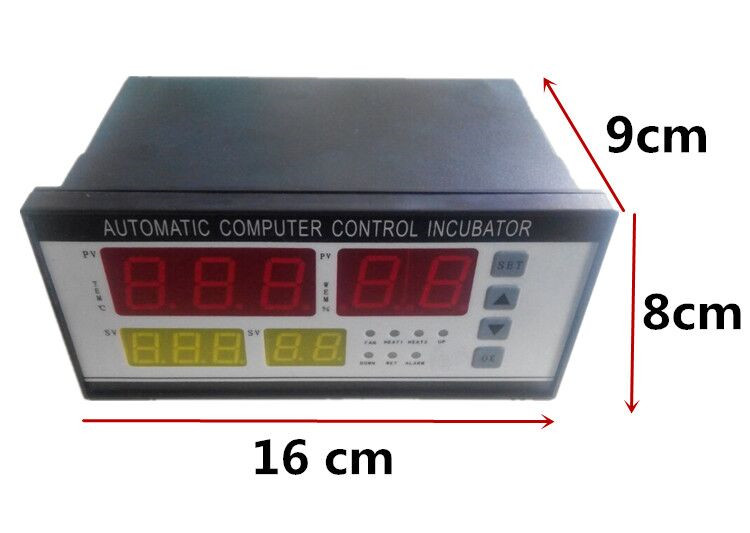 Thermostat de contrôleur d'incubateur système de contrôle d'incubateur d'oeufs entièrement automatique et multifonction à vendre