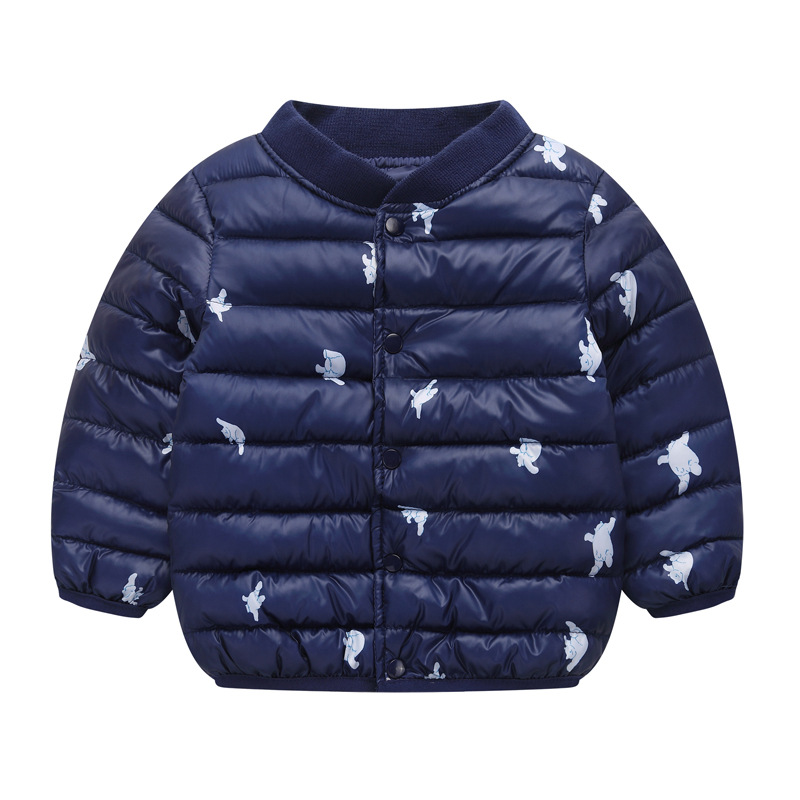 Girls Jackets 2021 Children Outerwear Coat Winter Baby Boys Girls Cardigan Jacket Toddler Warm Coat Kids Clothes For 3-7 Years 4