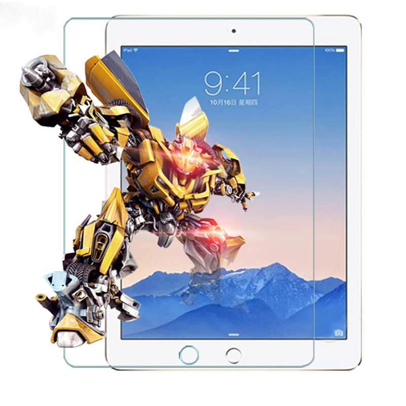 Screen Protector For Apple IPad 2017 2018 9.7 Air 1 2 Tempered Glass For IPad Mini 1 2 3 4 5 Film For IPad Pro 11 10.5 9.7 Film