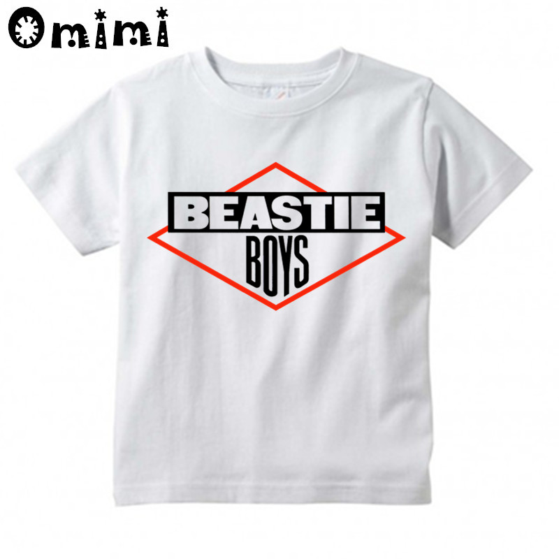 Boys/Girls Beastie Boys Printed T Shirt Kids Casual Short Sleeve Tops Childrens Funny White T-ShirtBoys/Girls Beastie Boys Printed T Shirt Kids Casual Short Sleeve Tops Childrens Funny White T-Shirt