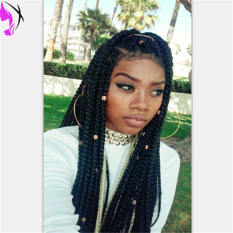Box Braids With Color In The Front | www.pixshark.com - Images Galleries With A Bite!