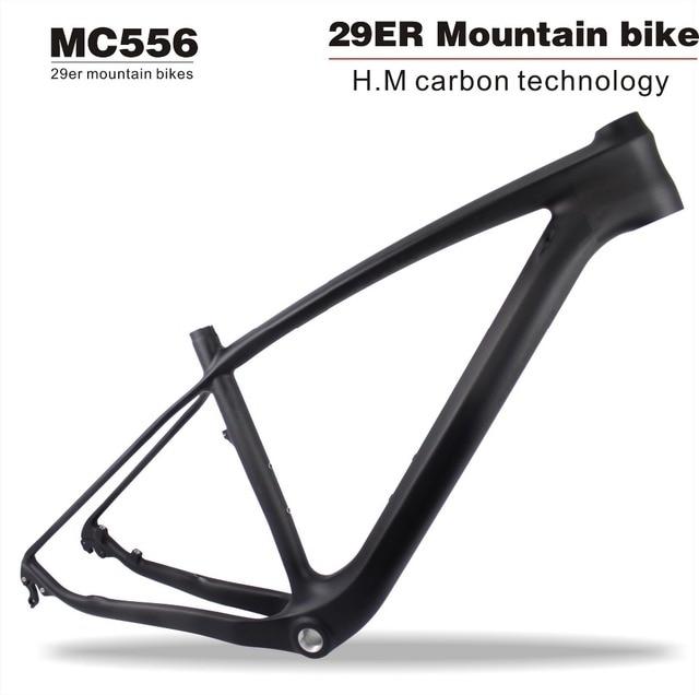 MIRACLE BIKES Full Carbon UD Matt 29ER MTB Mountain Bike Frame hard ...