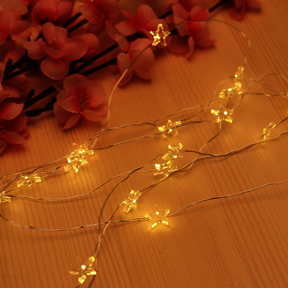 CARPRIE 10 LED Garland Copper Wire Corker String Fairy Lights for Glass Craft Bottle New Year Christmas Wedding Decoration