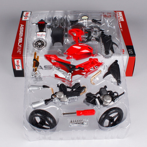 Maisto 112 Ducati Monster 696 Сборка DIY мотоцикл модель велосипеда комплект бесплатная доставка S 1000RR/R1200 GS 39189