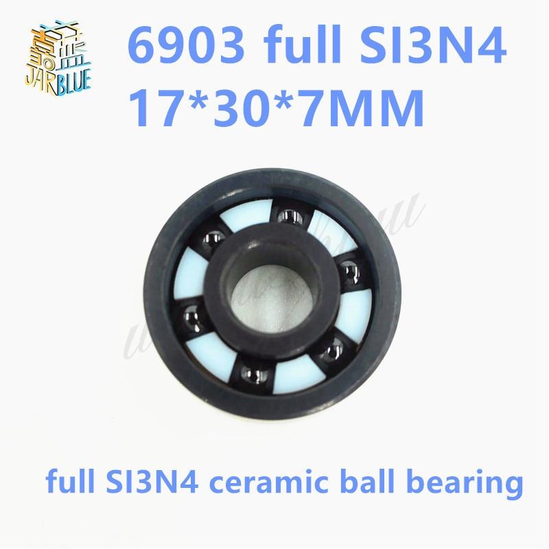 Free Shipping 6903 Full SI3N4 ceramic bearing SI3N4 full ceramic material 61903 17*30*7MM цена и фото
