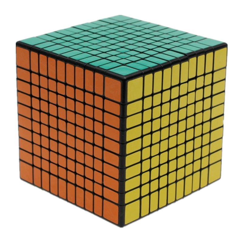 NEW ShengShou 10x10x10 Magic Cube Professional PVC & Matte Stickers Cubo Magico Puzzle Speed Classic Toys Learning Education Toy 500 knitting pattern world of xiao lai qian zhi