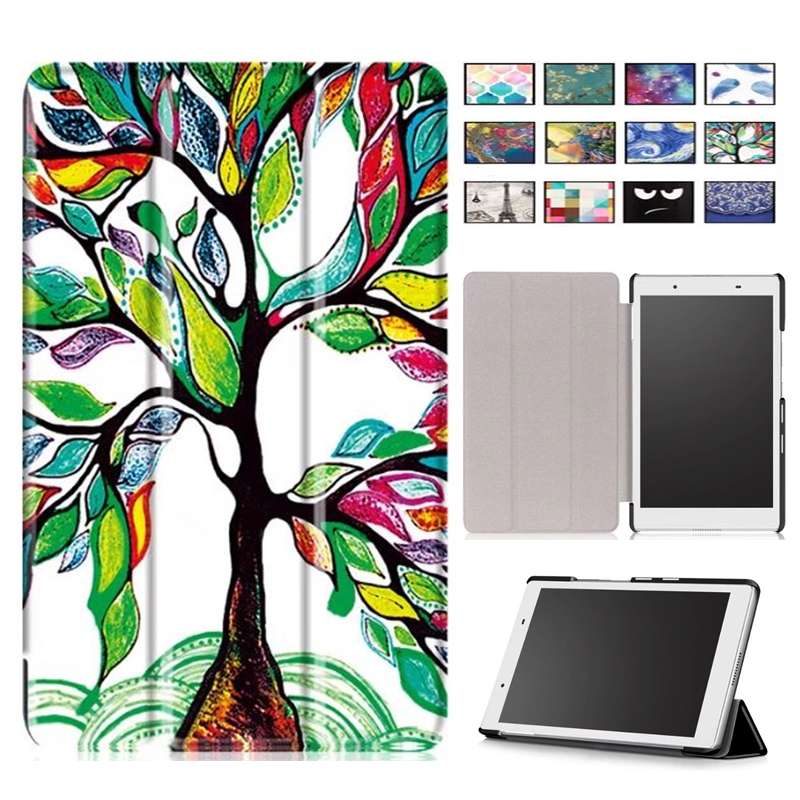 New magnetic slim pu leather cover case for Lenovo Tab4 Tab 4 8 inch TB-8504F TB-8504N/X for Lenovo Tab 8 TB-8504X(2017) case цена