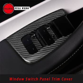 6pcs/set ABS Car Styling Window Switch Panel Trim Sticker Cover Decoration for Tesla Model 3 Accessories