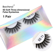 Hottest 5D False Eyelashes Hand-made Natural Stereo Multilayer Thick Soft 2019 New Product