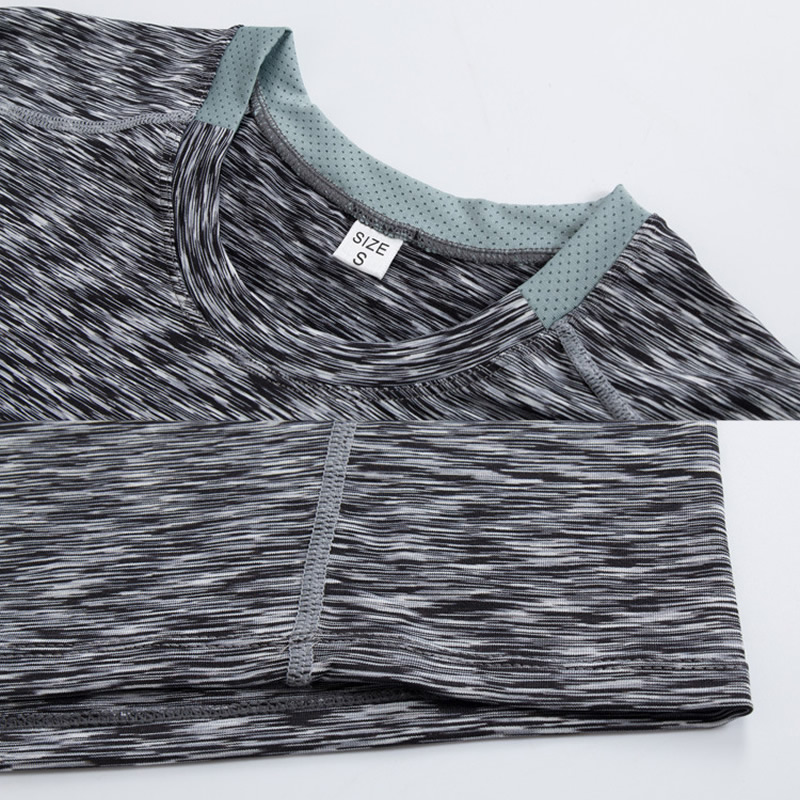 Quick dry T-shirt men tight long sleeve 2