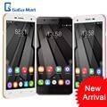 Oukitel u7 u7 plus pro 4g smartphone de 5.5 pulgadas android 6.0 mt6737m quad core teléfono móvil 2 gb + 16 gb 13.0mp teléfono móvil de huellas digitales