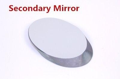 Desempenho de custo elevado Curto Comprimento Do Eixo D = 20/25/35/40/53 // 70mm espelho secundário para a Reflexão Telescópio Astronomia