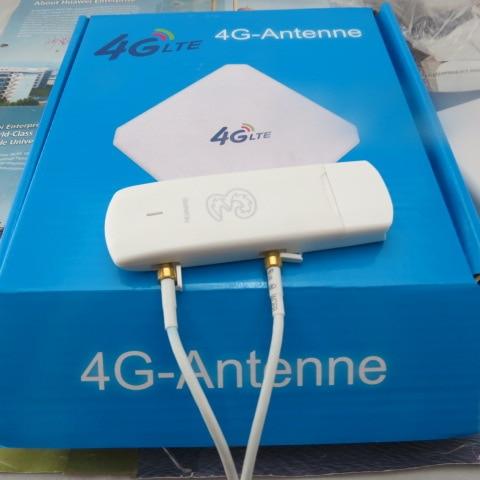 Unlocked huawei e3272s-210 LTE USB Stick Fdd 800/1800/2600 TDD 2600 MODEM+4G CRC9 35DBI Antenna unlocked huawei e3372 e3372s m150 2 4g lte cat4 usb stick modem broadband hotspot support lte fdd 800 900 1800 2100 2600mhz