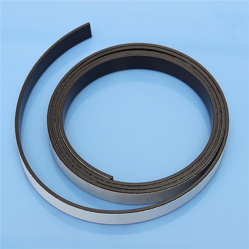 1M Rubber Self Adhesive Magnetic Stripe Flexible Magnet DIY Craft Tape 10 x1.5mm High Quality for shop office home school file роликовые коньки onlitop disney 1231453 р 33 36 minnie mouse