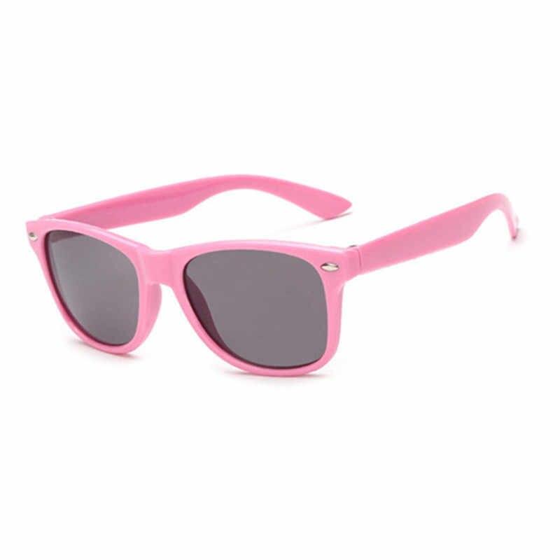 เด็กใหม่แว่นตากันแดด Gafas Oculos De SOL หลายกรอบ Retro เด็กแว่นตาสีดำสีชมพูแว่นตา Sun แว่นตา UV400