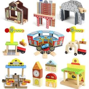 DIY Wooden Tracks Toy Crane Co