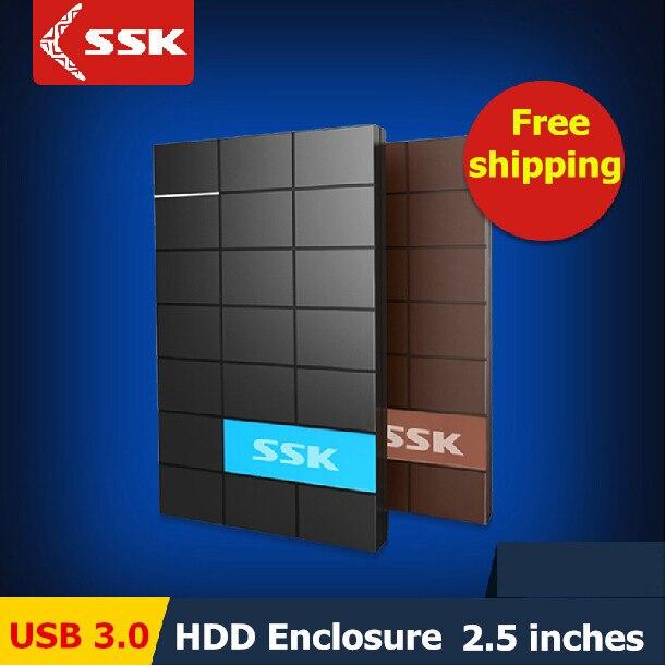 Сск USB 3.0 корпус жесткого диска 2.5 дюймов SATA HDD чехол последовательного порта на жестком диске box внешний жесткий диск HDD корпус box
