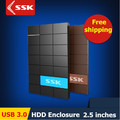 SSK USB 3.0 HDD Enclosure 2.5 Inch SATA HDD CASE Serial port hard disk box  External Harddisk HDD Enclosure box