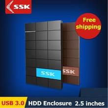 Ssk USB 3.0 HDD 2.5 pulgadas SATA HDD CASE disco duro Serial port caja externa disco duro caja caja de disco duro