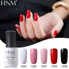 HNM 8 мл твердый горячий 28 цветов Праймер УФ-гель для ногтей замочить от лака счастливого тиснения Гибридный лак Гель-лак для ногтей эмаль