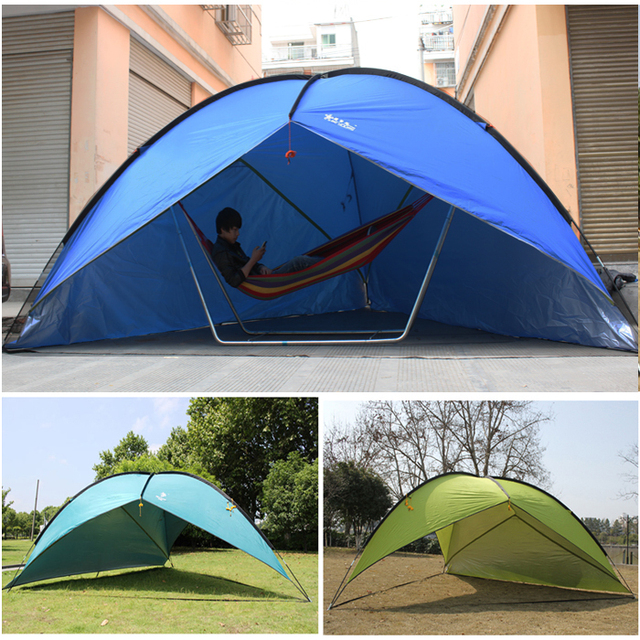 HOT SALES  New UV protection Canopy tent Waterproof Durable camping tent for Awning or BBQ Punta