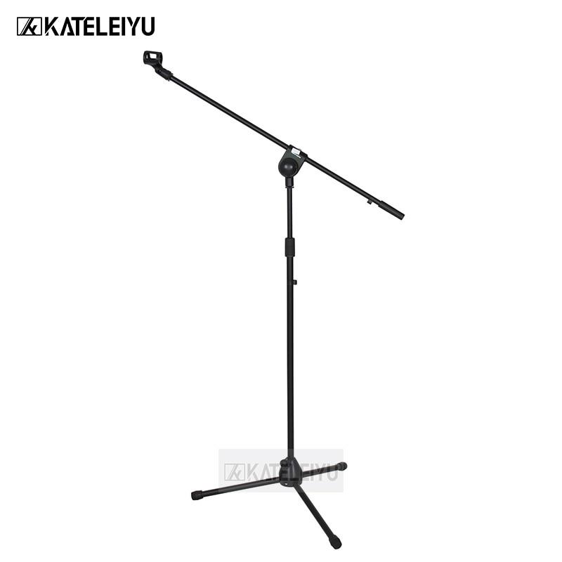 все цены на NB-301 Professional swing boom floor stand microphone holder Flexible Stage Microphone Stand Tripod онлайн