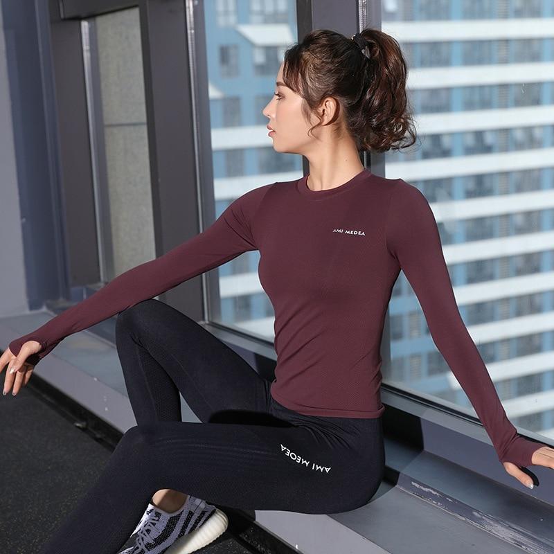 Esporte Top Fitness Frauen T Hemd esporte Tragen