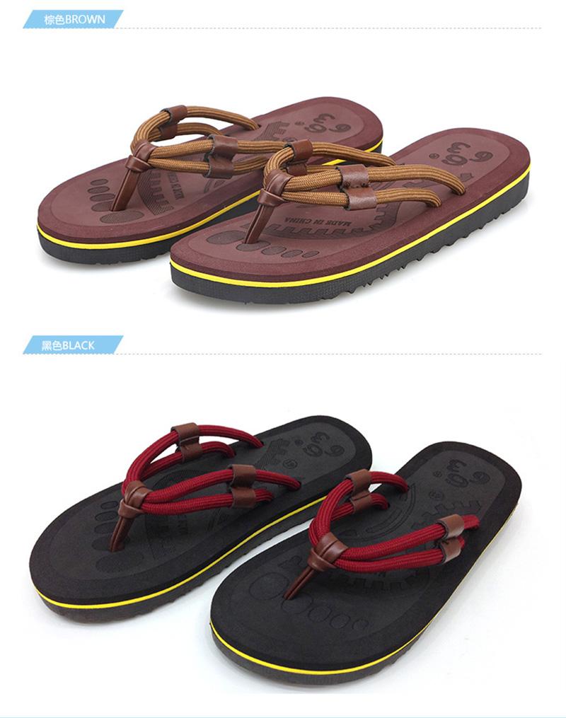 ... 2017 New Flip Flops Men Sandals Casual Summer Slippers Shoes Men  Leisure Outside Cool Beach Flip ... 811939f84802