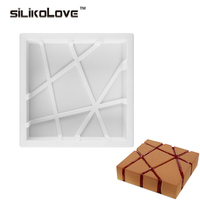 Cube Square Shaped 3D Silicone Cake Molds Baking Chocolate Muffin Desserts DIY Cake Pan
