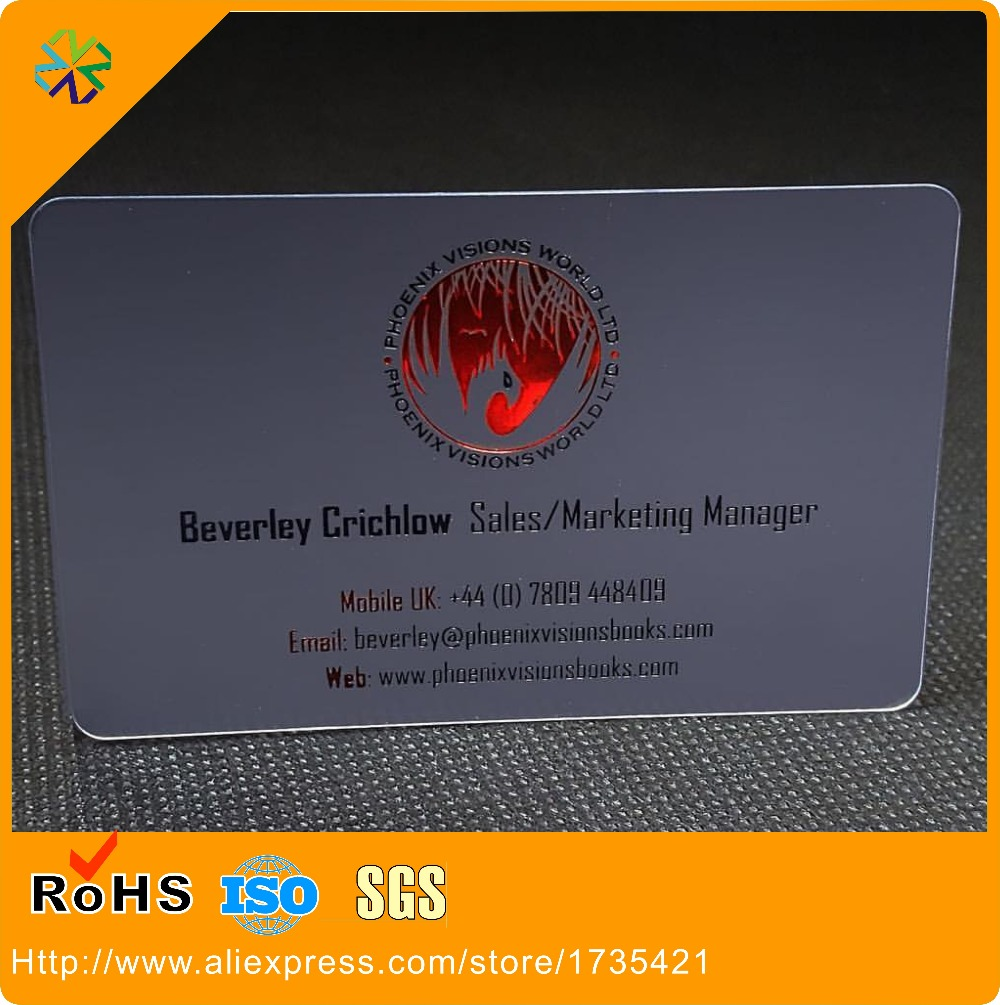 Customized clear frosted pvc business card semi transparent plastic customized clear frosted pvc business card semi transparent plastic business card printing in business cards from office school supplies on colourmoves