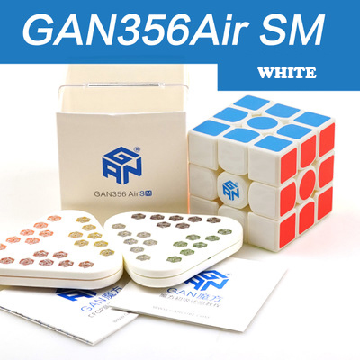 GAN 356 Air SM vitesse Cube avec aimants positionsusuperspeed magnéto magic System GRSv2 nid d'abeille surface de contact 3x3 Cubes - 4
