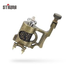 Stigma Rotary Tattoo Machine For Liner and Shader Bronzy Electric 6300 r/m Machine Tattoo Body&Art M686 цена и фото
