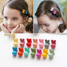 10 Pcs/Lot  New Colorful Rabbit Baby Kids Hair Clips Claws Lovely For Child Cute Accessories Fashion Girl Headwear