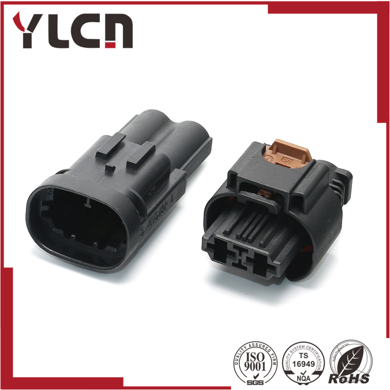 High Quality 2pin electric sealed housing plug waterproof male connector|2pin waterproof connector|connector waterproof|connector male - title=