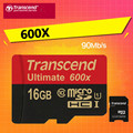 90MB/s Transcend 600x 16GB 32GB Class 10 High Speed TF microSDHC Memory Card For Gopro hero 3 Mobile Phone Digital Camera Tablet