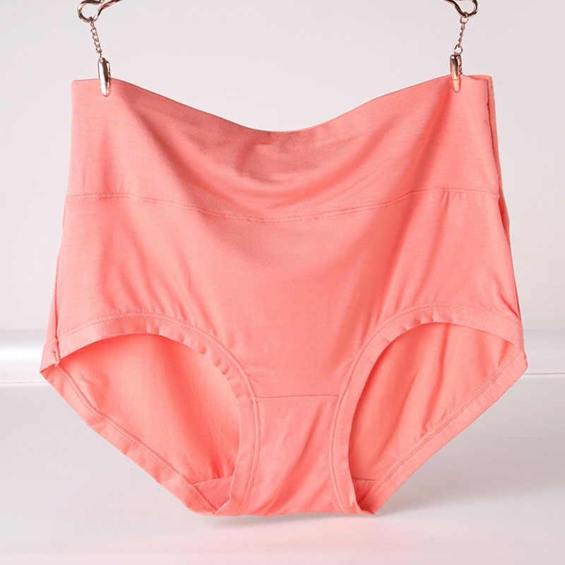 VU087 Plus Ukuran 6XL 7XL High Waist Wanita Pakaian Serat Bambu Nyaman Wanita Celana Celana Solid Kulot Femme