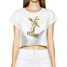VEGAN activism women's shirt / girlie