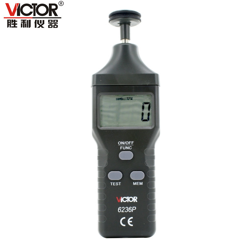 VICTOR VC6236P Digital contact/non-contact tachometer photoelectric tachometer  цены