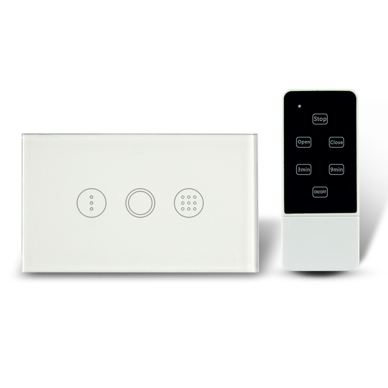 Free Shipping Single Gang Touch Timer Switch with RF Remote 433Mhz , Crystal Toughened Glass Panel Time Delay Light Switches touch on off switches the intelligent control induction time delay switch panel led light intelligent protection lzx