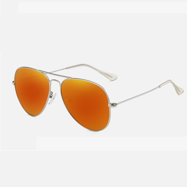 c6ae668e7d Unisex Retro HD TAC Orange Polarized Sunglasses UV400 Women Driving Glasses  Classic Pilot Men Sunglasses Brand Designer