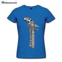 Summer Clothing Short Sleeve T-Shirt Female Casual Shirts T-Shirt Women Clothes Top Tee Pattern Pistol Printed S-XXL WTWQ102