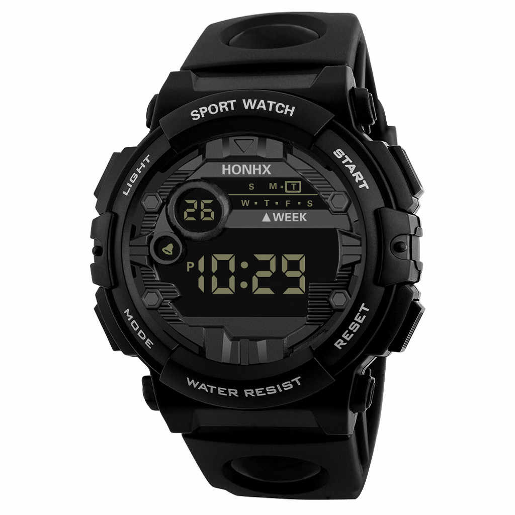relogio digital sport waterproof Luxury Watch Men Digital LED Watch Date Sport Men Outdoor Electronic reloj hombre digital