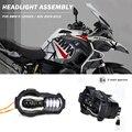 Neue Ankunft! motorrad LED Scheinwerfer Projektor für BMW R1200GS 2004-2012 R 1200GS ADV Abenteuer 2005-2013 Moto Lichter Montage