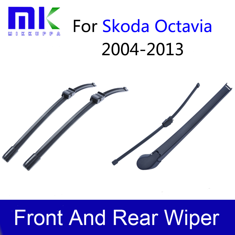 REAR WINDSCREEN WIPER BLADE FOR SKODA OCTAVIA MK2 ESTATE 2005-2009 400MM 16/""