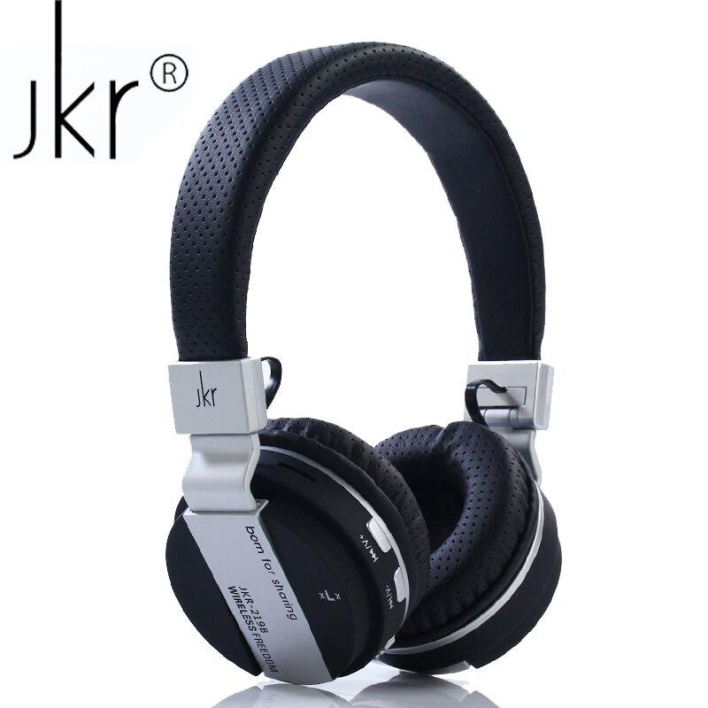 JKR 219b Hifi auriculaire grand Casque sans fil sans fil bluetooth Casque écouteur pour téléphone Casque tête Sluchatka Casque