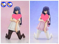 2 renk Yeni Varış Skytube Oyunu Anime Arıza Kamiwazumi Maya Elbise Çorap Kneeling Ver 1/6 Yetişkin Seksi Action Figure Doll 20 cm